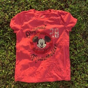 Authentic Mouseketeer Tee Shirt Disney Mickey